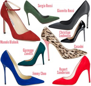 design your own custom made shoes at CHIKO Shoes - shoe trend 2013 - pointy toe