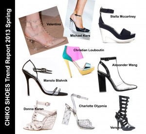 CHIKO Shoes Trend Report 2013 - Clear As Lucite