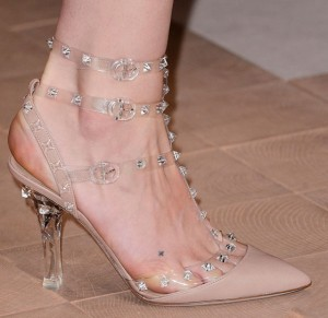 Valentino 2013 Collection - Lucite Shoes