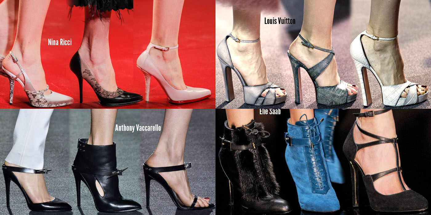 Paris Fashion Week Shoes Fall / Winter 2013-2014