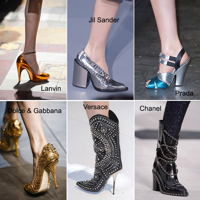 CHIKO Shoes Trend Report: Fall/Winter 2013 - 2014 Metallic Feature