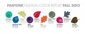 panton fashion color report fall 2013 colors