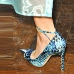 Felder Felder Blue Shoes London fashion week ss 2014