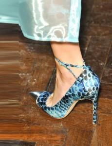 Felder Felder Blue Shoes London fashion week ss 2014