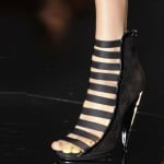 Gucci Black Shoes Milan Fashion Week SS 2014