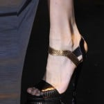 Gucci Gold-black-shoes Milan Fashion Week SS 2014