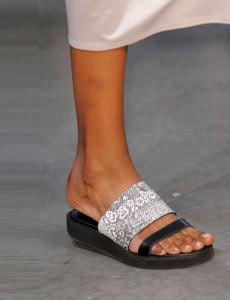 Helmut Lang sandals NY Fashion Week SS 2014
