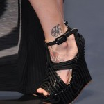 Jean Paul Gaultier black-wedge-shoes Paris Fashion Week SS14