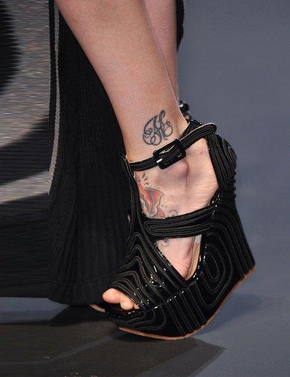 Jean Paul Gaultier black-wedge-shoes Paris Fashion Week SS14