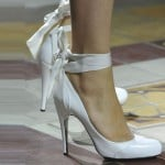 Lavin White Shoes Paris Fashion Week SS 2014