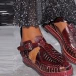 Proenza Schouler Maroon-shoes NY Fashion week ss 2014