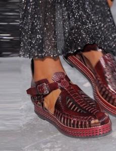 Proenza Schouler Maroon-shoes NY Fashion week ss 2014
