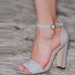 Richard Nicoll grey-shoes London fashion week ss 2014