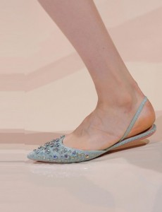 Rochas blue-flat-shoes Paris fashion week ss 2014