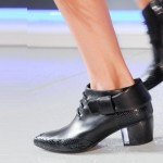 Rodarte Black-boot NY fashion week ss 2014