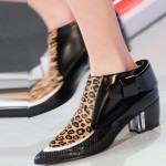 Rodarte Leopard-boot NY fashion week ss 2014
