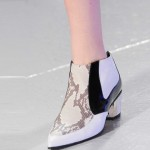 Rodarte White-snake-boot NY fashion week ss 2014
