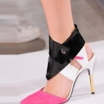 Roland Mouret Pink-black-shoes Spring/Summer 2014