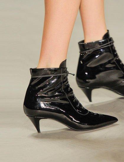 Saint Laurent Black-boot Paris fashion week ss 2014