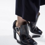 Salvatore Ferragamo black-snakeskin-shoes Milan fashion week ss 2014