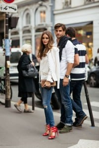 Olivia Palermo Red Shoes