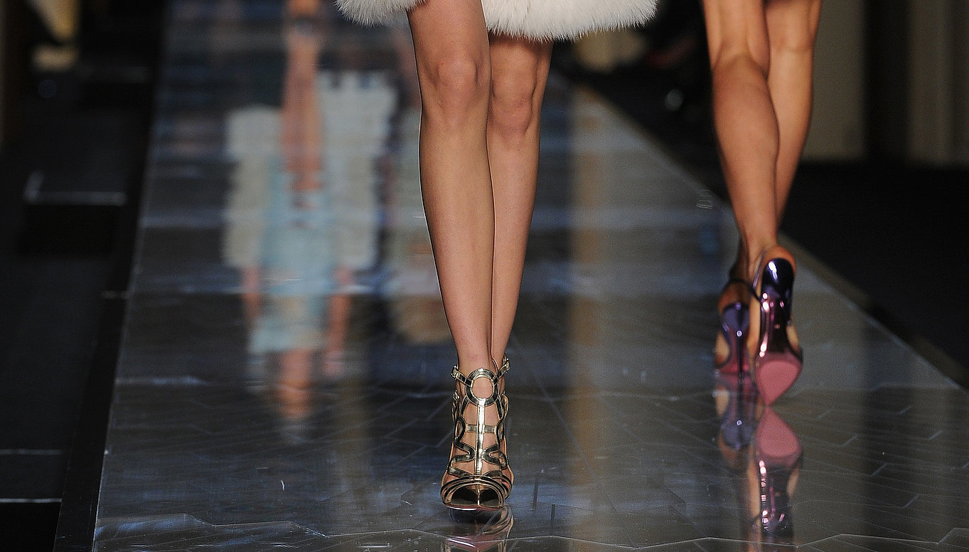Atelier-Versace-Haute-Couture-Spring-2014-shoes-metallic-cutout-pointed-toe