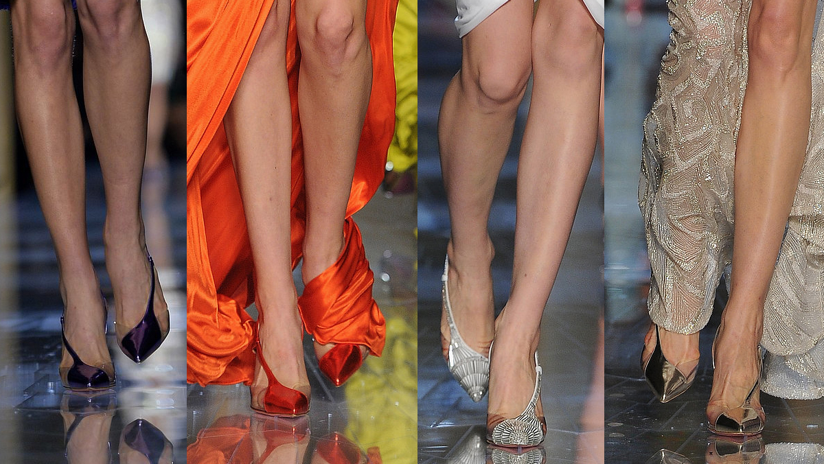 Atelier-Versace-Haute-Couture-Spring-2014-shoes-pointed-toe-pump