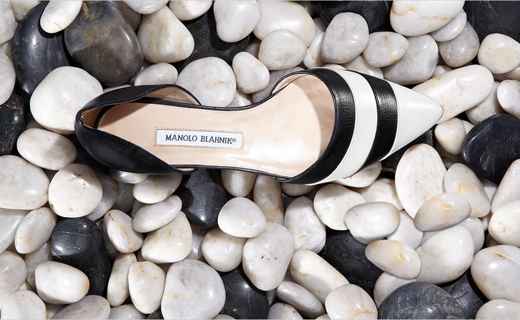 DOrsay-flats-Leather-Lace-Up-Sandals-Manolo-blahnik-shoes