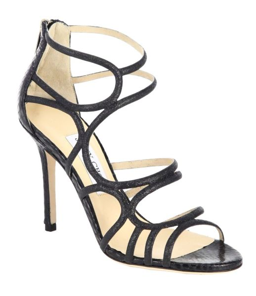 Jimmy-choo-snake-skin-sandals
