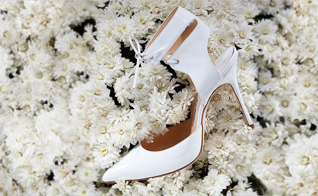 Ankle-tie-Manolo-blahnik-shoes