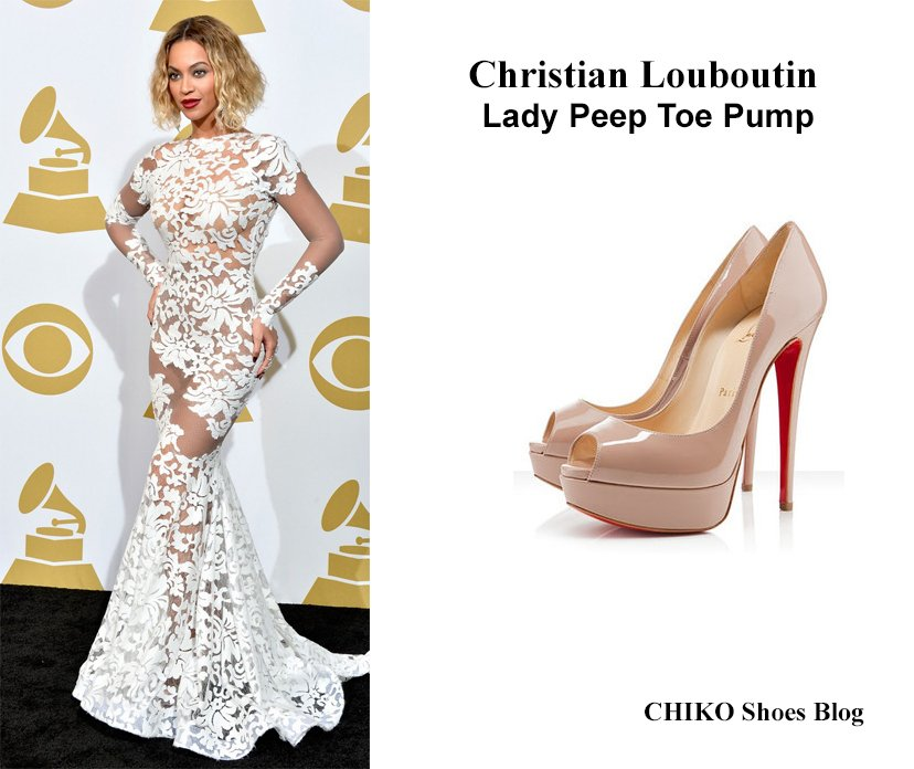 beyonce white dress shoes - photo #3