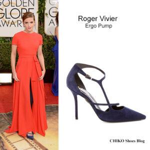emma-watson-golden-globes-2014-red-carpet-roger-viver-ergo-pump