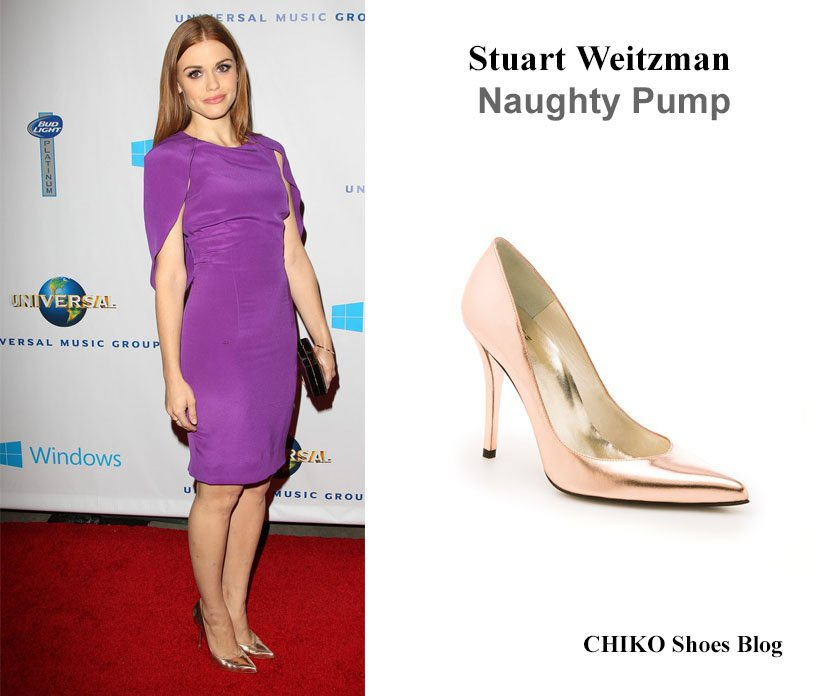 holland-roden-universal-music-grammys-2014-after-party-shoes-Stuart-Weitzman-Naughty-Pump