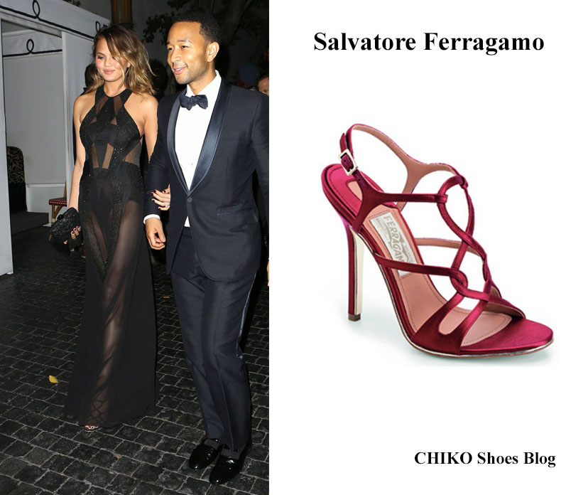 john-legend-chrissy-teigen-grammys-2014-after-party-shoes-salvatore-ferragamo