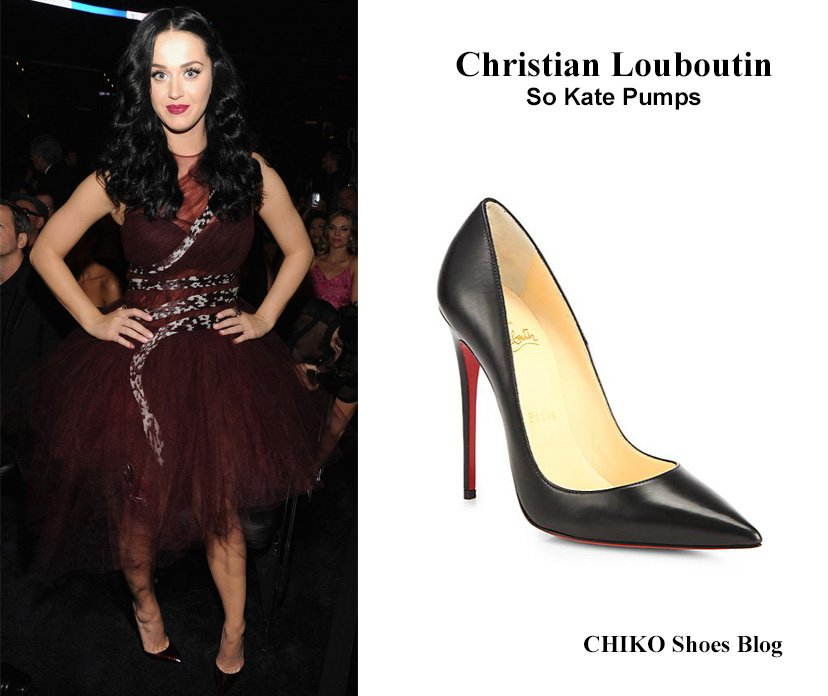 katy-perry-grammy-2014-christian-louboutin-so-kate-pump