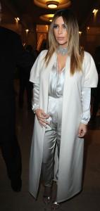 Kim-Kardashian-Stephane Rolland- Paris Fashion Week - Haute Couture S/S 2014