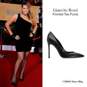 mariah-carey-sag-awards-2014-Gianvito-Rossi-Pointed-Toe-Pump