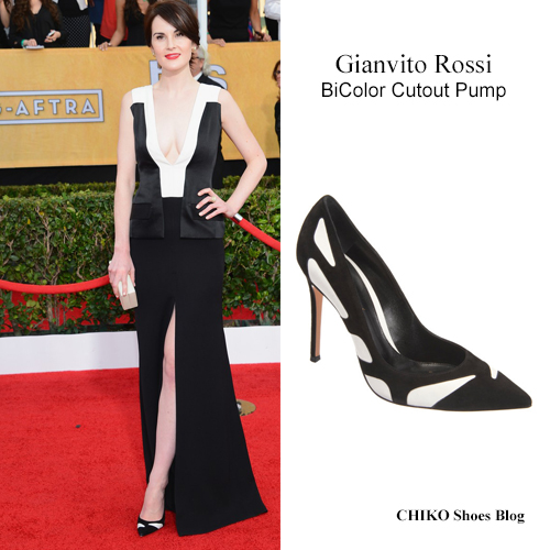 michelle-dockery-sag-awards-2014-Gianvito-Rossi-Shoes