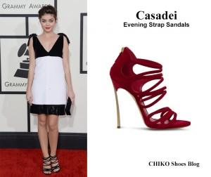 sarah-hyland-grammys-2014-red-carpet-casadei-sandals
