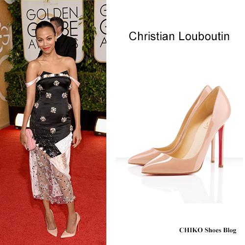 zoe-saldana-globen-globes-2014-red-carpet-christian-louboutin