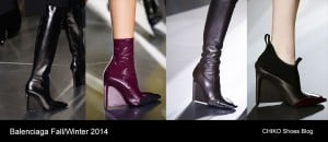 Balenciaga Paris Fashion Week Shoes Fall/Winter 2014-2015