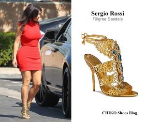 Kim-Kardashian-Sergio-Rossi-filigree-sandals