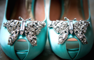 Butterfly-accesorized-shoes