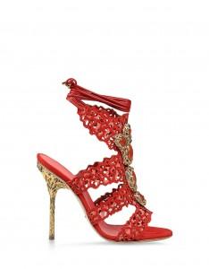 Sergio-Rossi-Filigree-lace-up-sandals