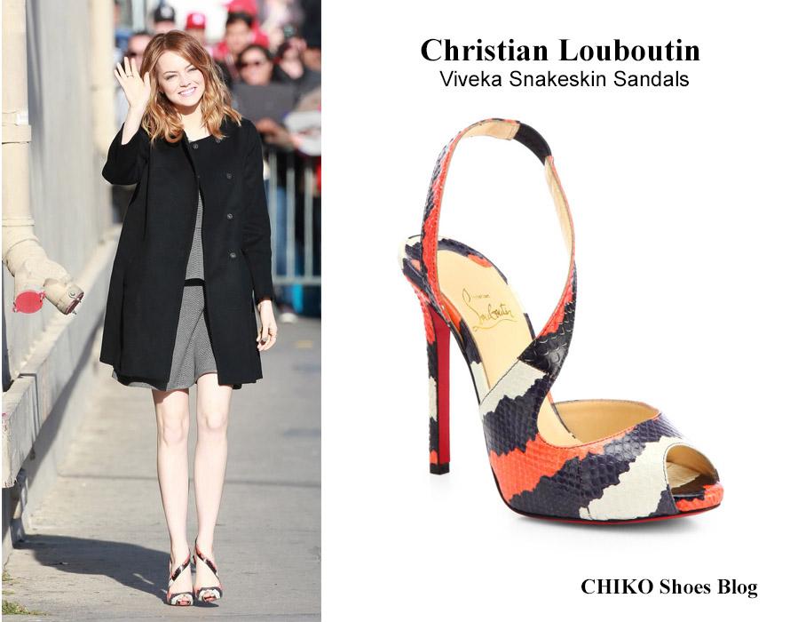 emma-stone-Christian-Louboutin-Viveka-Snakeskin-Sandals