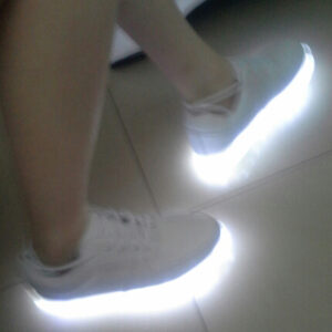sneakers with lights