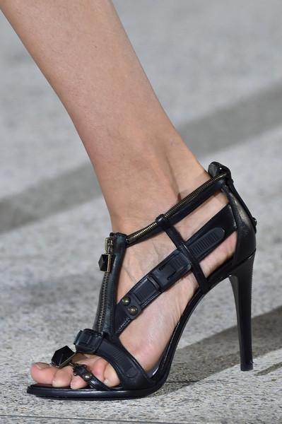 Anthony Vaccarello Spring 2015 Shoes