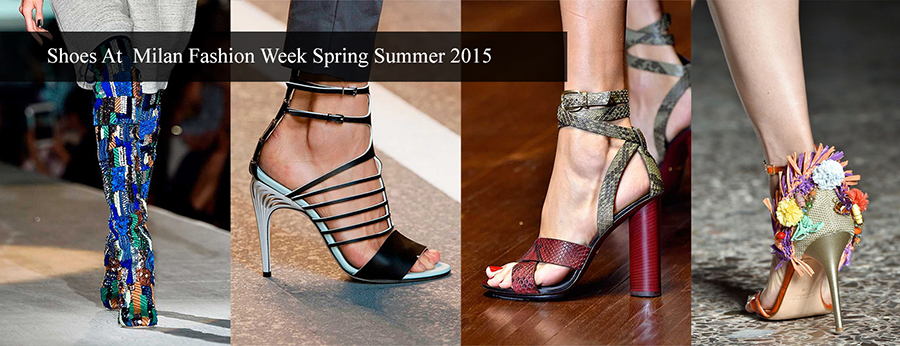 Latest Fashionable Shoes Shoes at Milan Fashion Week