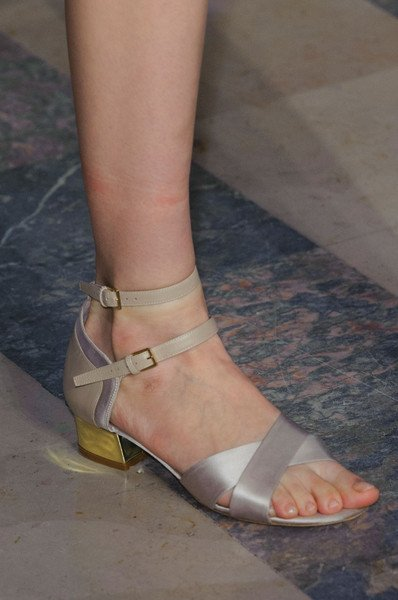 Elie Saab Shoes At Haute Couture Spring 2015