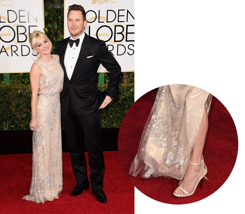 anna-faris-golden-globes-2015-red-carpet-jimmy-choo-sandals